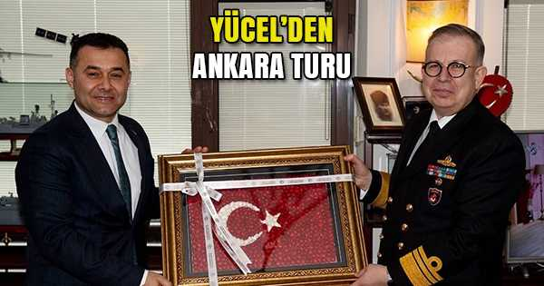 KAZANCIOĞLU VE YAYCI'YI ZİYARET ETTİ