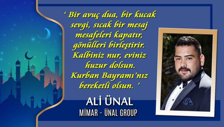 Ali Ünal: 'Bir avuç dua, bir kucak sevgi, sıcak bir mesaj…'