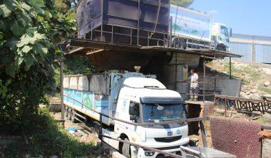 9 günde 350 ton çöp geri dönüşüme gönderildi
