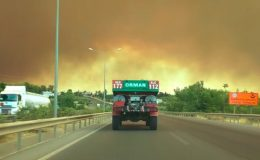 FLAŞ GELİŞME I Manavgat'tan sonra Demirtaş yanıyor