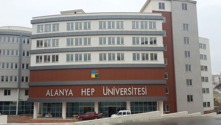 Alanya HEP Üniversitesi'nden personel duyurusu