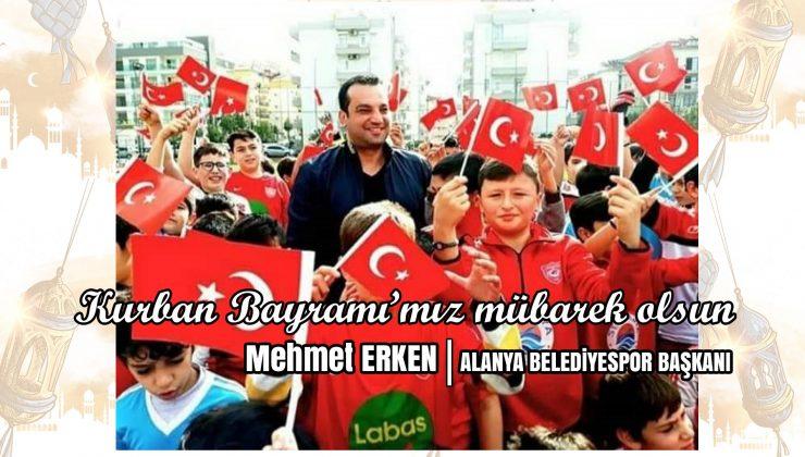 Mehmet Erken: Kurban Bayramı'nız mübarek olsun