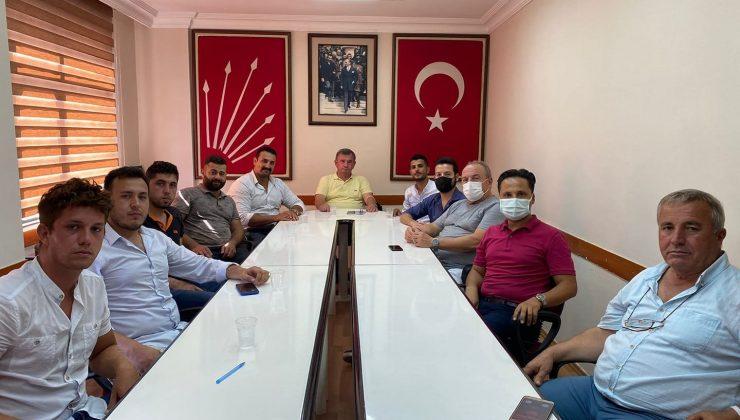 Bebekoğlu'ndan CHP Alanya'ya  ziyaret