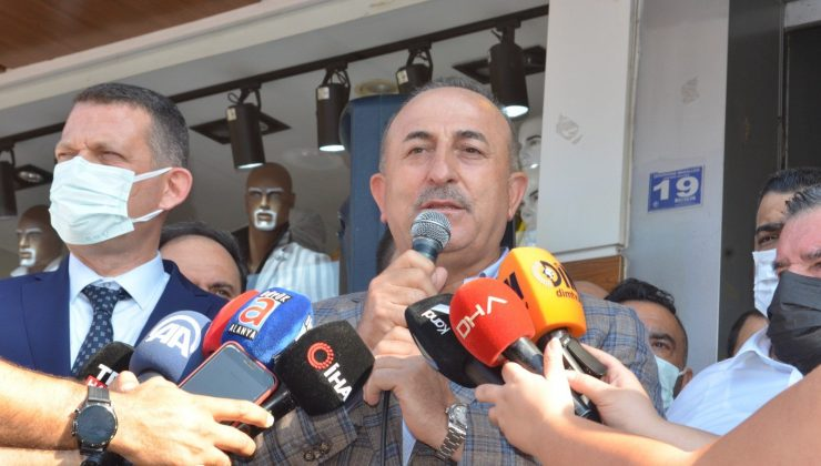 Çavuşoğlu, Alanya esnafının isyanını dinledi