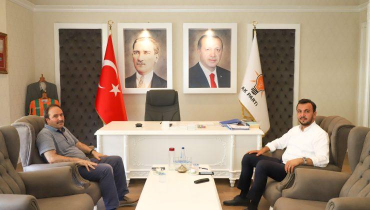 Mustafa Toklu'ya ziyaretçi akını