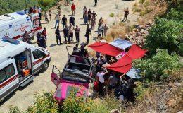 Dimçayı'nda cip safari faciası: 1 ölü
